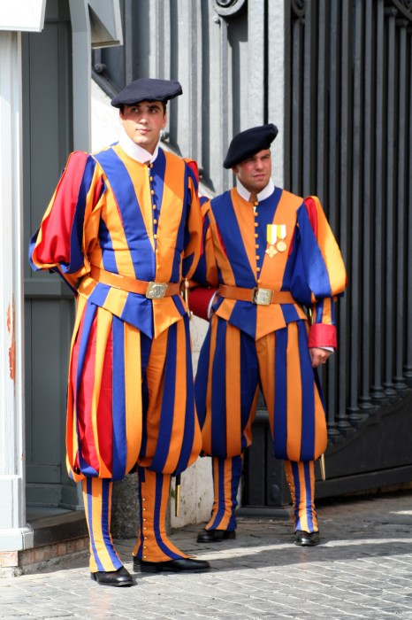 photoblog image Vatican guards